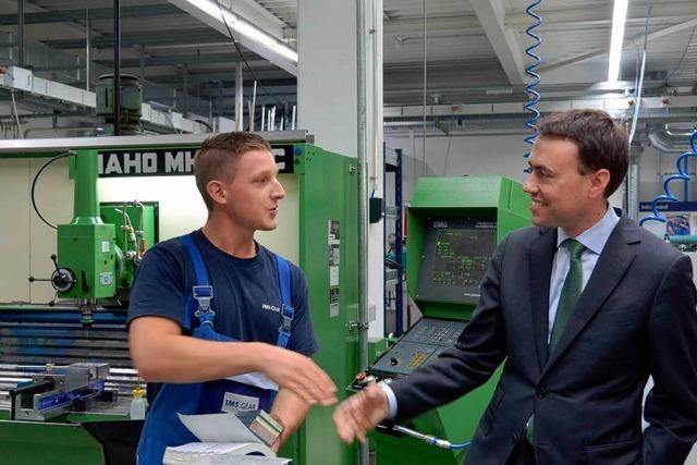 Wirtschaftsminister Schmid zeigt Verständnis für die Sorgen von Eisenbach und Lenzkirch
