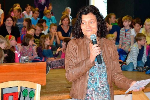 Große Anerkennenung: Rektorin Sabine Meier verabschiedet