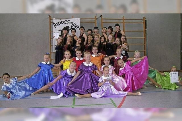 Erfolgreiche Tänzerinnen