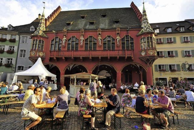 """""""Weinkost"""" in Freiburg"""