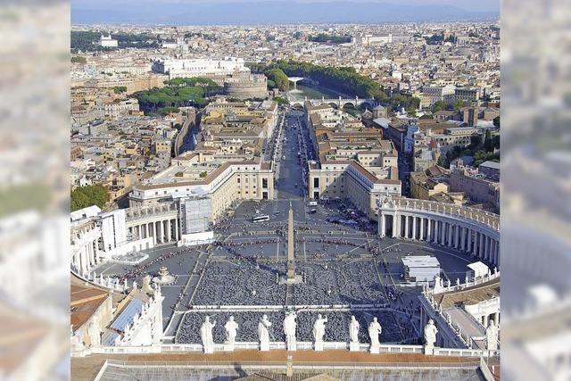 Papst, Pizza und Petersdom