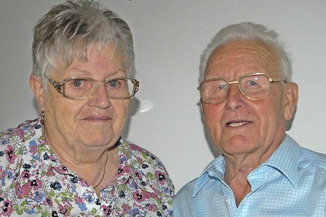 """Helene und Hans Grimm: Gefunkt hat es vor 60 Jahren in der """"Sonne"""""""