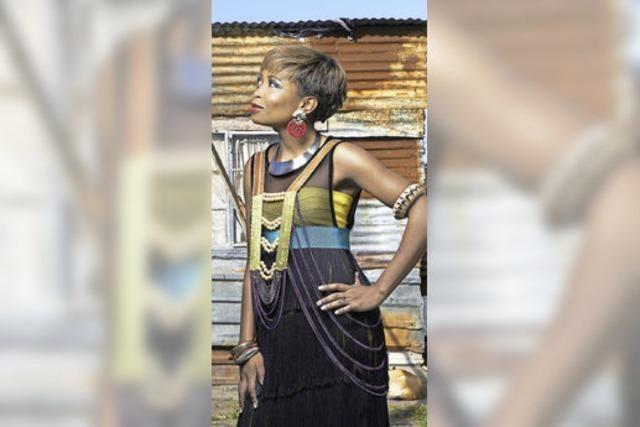 Nomfusi Gotyana beim African-Music-Festival in Emmendingen: In den Schuhen von Makeba