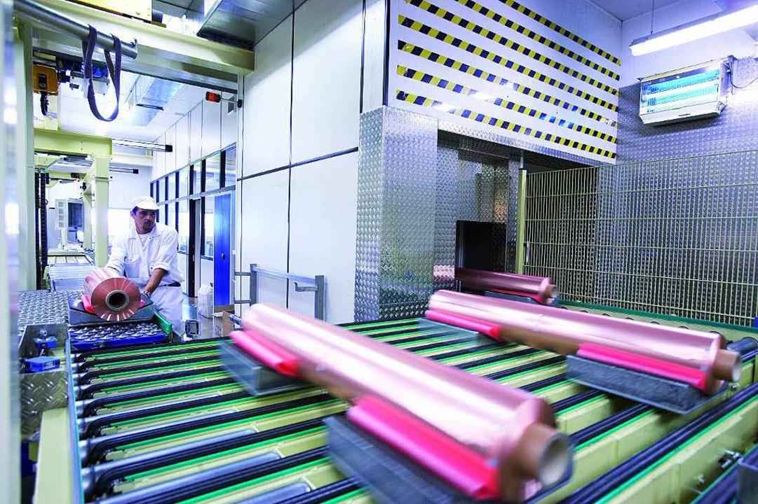 Für die Kupferfolien-Herstellung kommt zum Jahresende das Aus.   | Foto: Werkbild