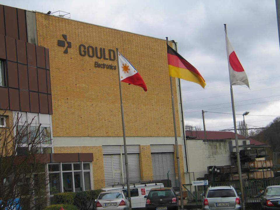 Gould kündigt Werkstilllegung an  | Foto: Gustav Rinklin