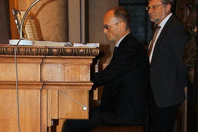 Bongiorno lässt die Orgel dröhnen