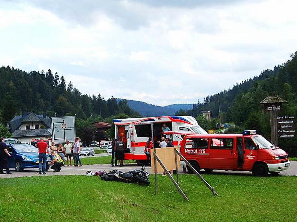 Unfall in Todtmoos  | Foto: Hans Dieter Folles