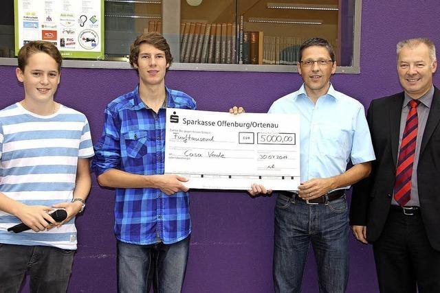 MPG-Spendenlauf bringt 5000 Euro für Casa Verde