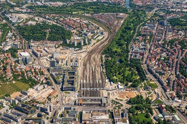 Stuttgart 21: Der Bau des umstrittenen Tiefbahnhofes beginnt