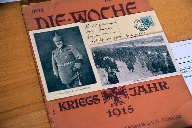 Collage der Kriegstage