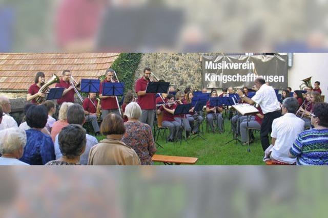 300 begeisterte Zuhörer beim Sommerkonzert