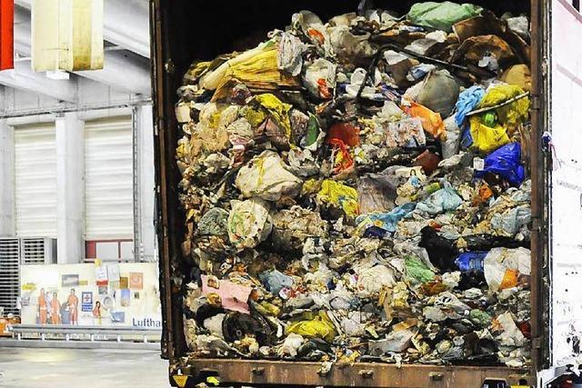 Jeder Aargauer hinterlässt pro Jahr fast 400 Kilo Müll