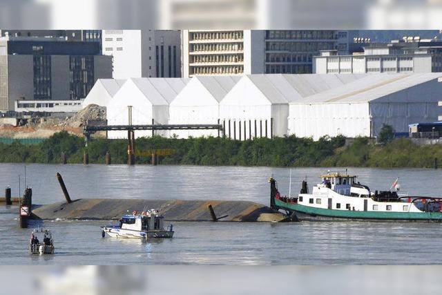 Rheinalarm nach Havarie