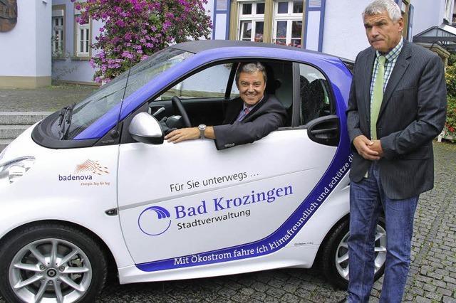 Elektrisch fahren und Daten sammeln