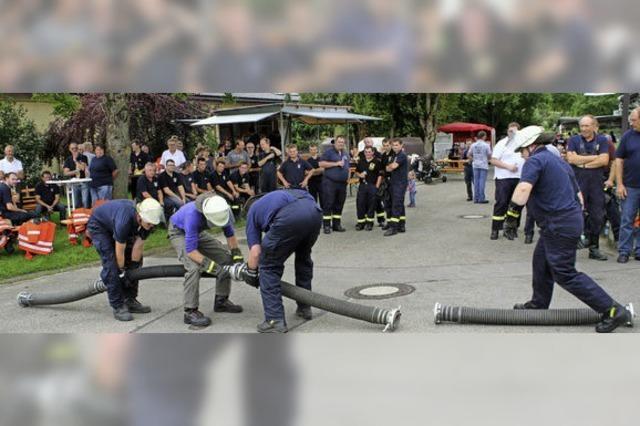 Die nächsten Gaudispiele richtet die Feuerwehr Efringen-Kirchen aus