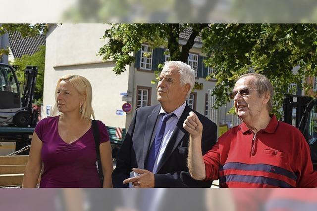 Justizminister sieht nach dem Rechten
