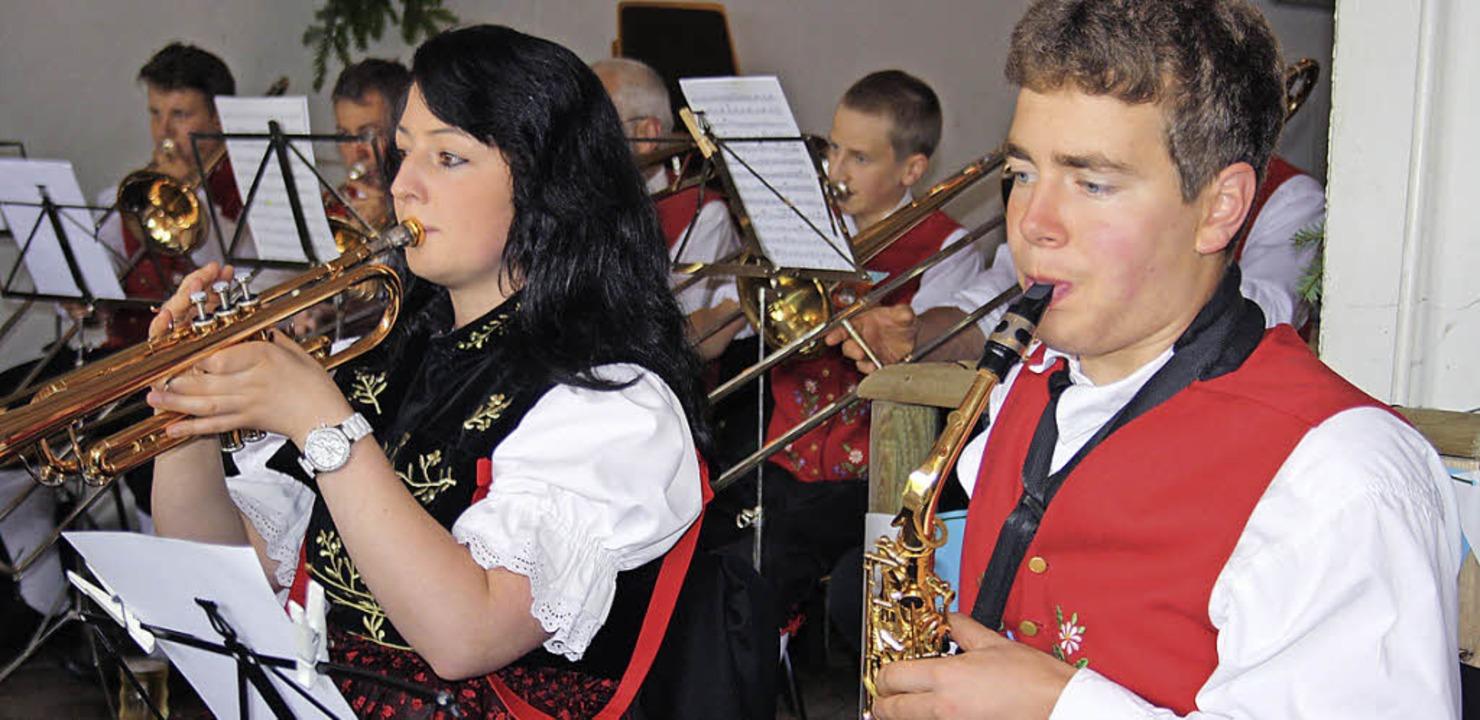 Von Swing über Rock bis Polka bot die ...elle Todtmoos ein  gelungenes Konzert.  | Foto: Andreas Böhm