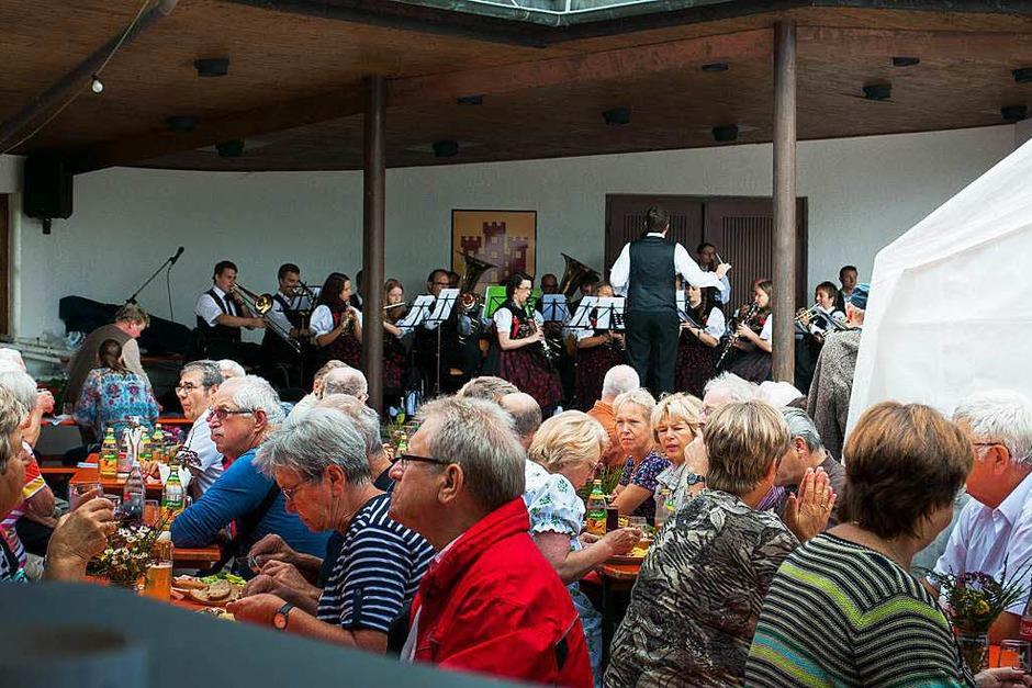 <Text>Sonntag, 27. Juli: Frühschoppenkonzert  mit der Trachtenkapelle Höchenschwand</Text>. (Foto: Barbara Weber)