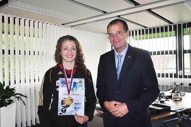 OB Eberhardt empfängt Elena Brugger
