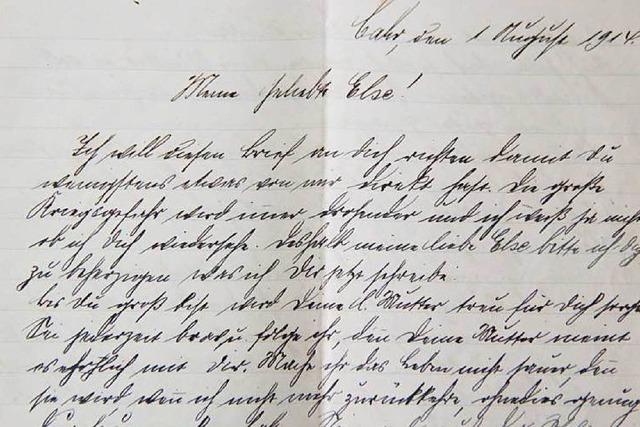 Der Abschiedsbrief des Johann Spahmann