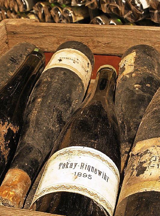 Ein Tropfen von 1895: So gut wie Lemmy?     Foto: dpa/Foire aux vins