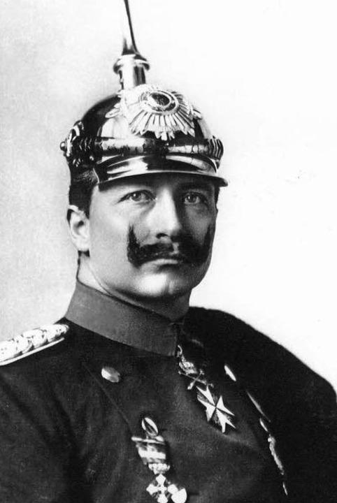 Kaiser Wilhelm II.     Foto: dpa