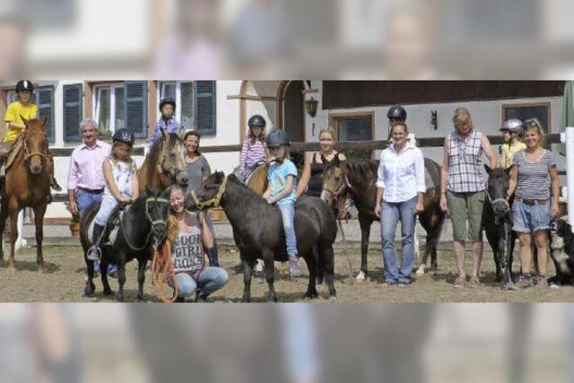 """""""Upper Rock Ranch"""" in Harpolingen als Wanderreitstation ausgezeichnet"""