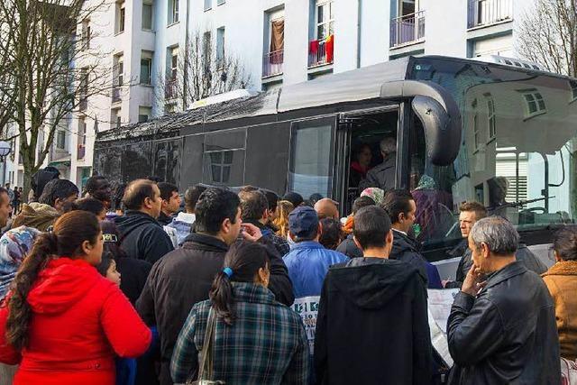 Flüchtlinge leben unter untragbaren Umständen
