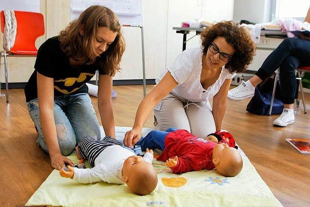 Sicherheit durch Babysitterkurs
