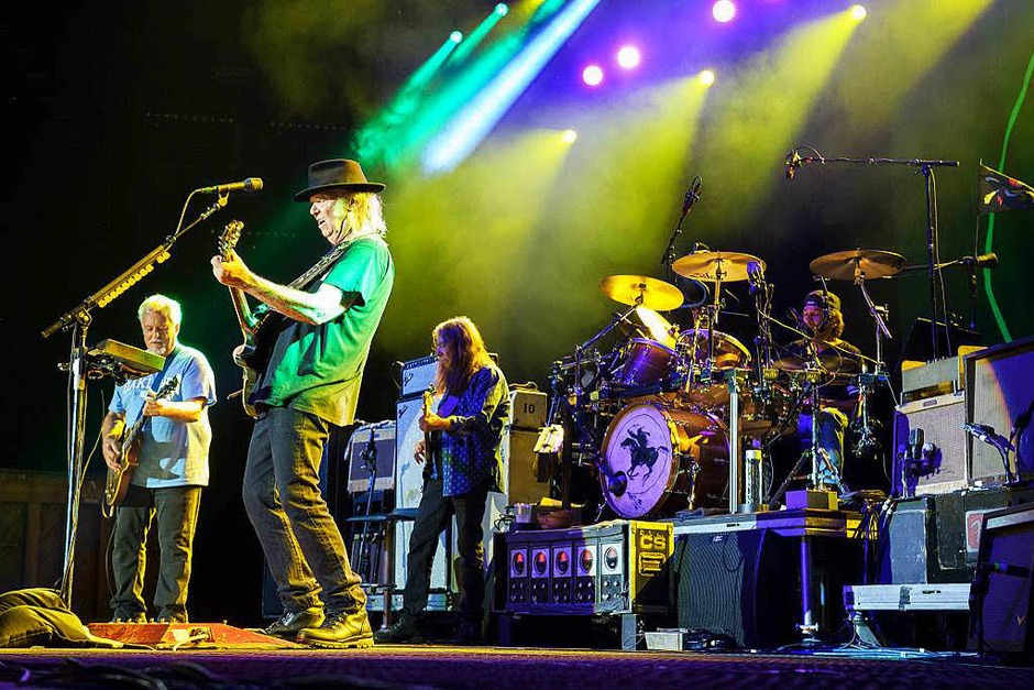 Der Rock lebt- Neil Young & Crazy Horse in Colmar (Foto: Benoit Facchi)
