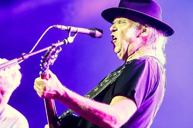 Wie wars bei … Neil Young & Crazy Horse in Colmar?