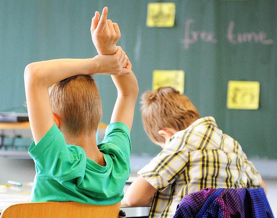 Zu wenig Unterstützung von Seiten der Regierung beklagen die Lehrer.    Foto: dpa