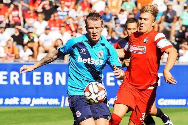 SC Freiburg gegen Stoke City- 1:1