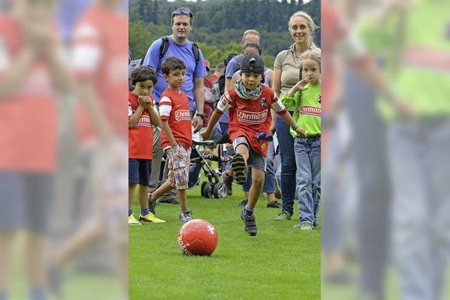 Fußballclub feiert die Saisoneröffnung und den 110.Geburtstag