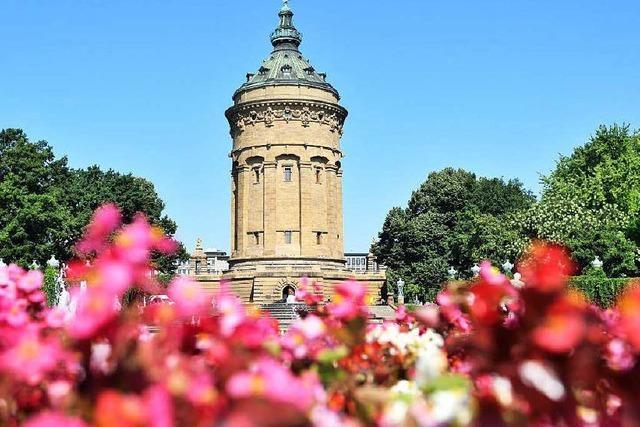 Mannheims Wasserturm wird 125 Jahre alt