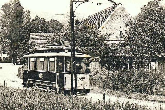 Seit 1901 fährt die Freiburger Tram nach Günterstal