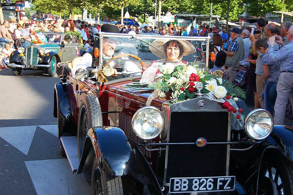 85. Corso fleuri in Séléstat (Foto: Christian Ringwald)