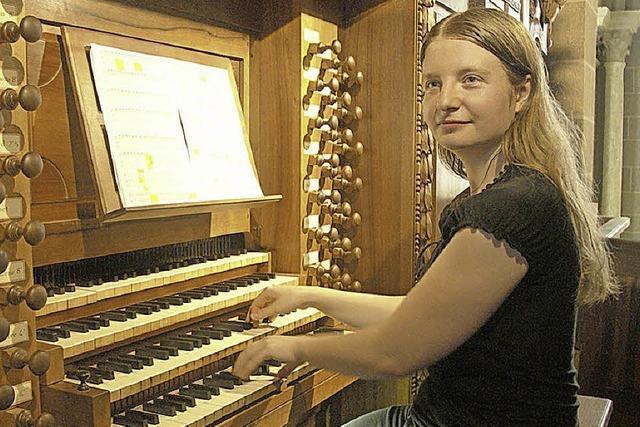 Orgelmusik am Samstagabend: Jule Rosner spielt in Weil