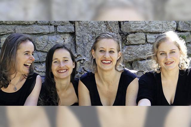 Aktionsmalerei und Improvisationen des Faust Quartetts in Basel