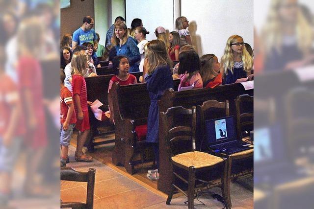 Kinder erfahren Bibel und Glaube