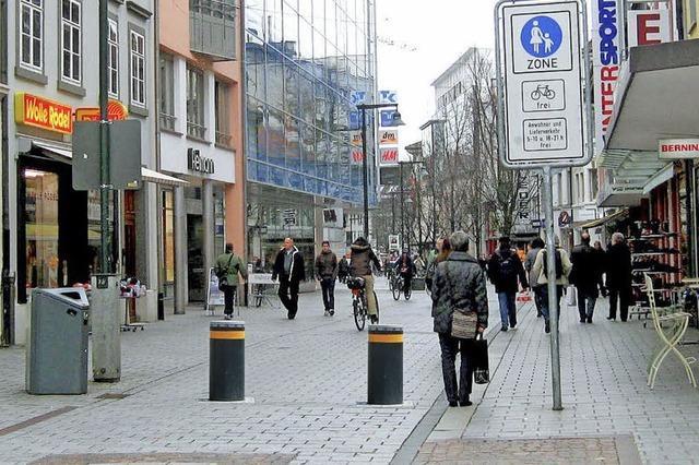 Mehr Freiraum für Fußgänger