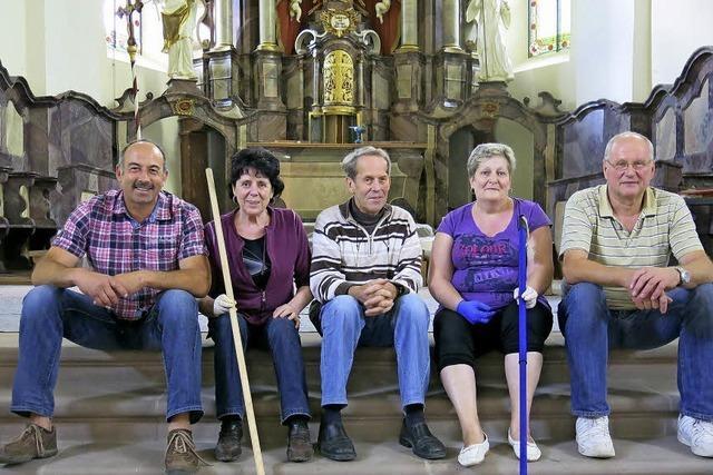 Sanierung der barocken Kirche in Dillendorf ist fast abgeschlossen
