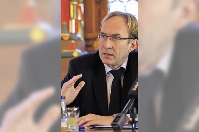 Was sagt Baubürgermeister Haag über Sinn und Zweck von Stadtteilleitlinien?