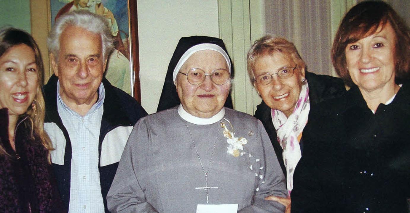 Die aus Wehr gebürtige Schwester Teres...er weiterhin ihren Heimatort um Hilfe.  | Foto: zvg