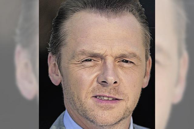 Schauspieler Simon Pegg über Glück, Komödien und die Freundschaft mit Nick Frost