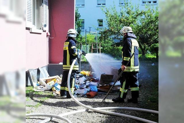 86-Jährige erleidet Rauchgasvergiftung