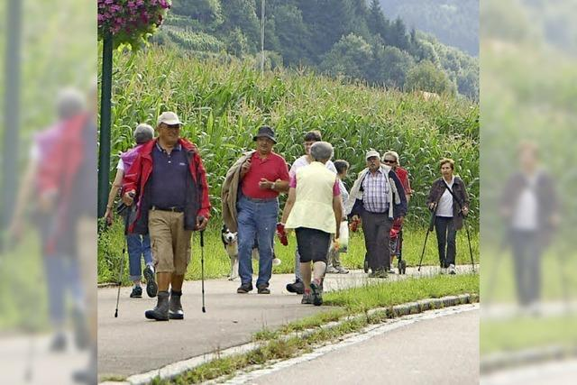 Wo gut tausend Wandersleute stempeln gehen