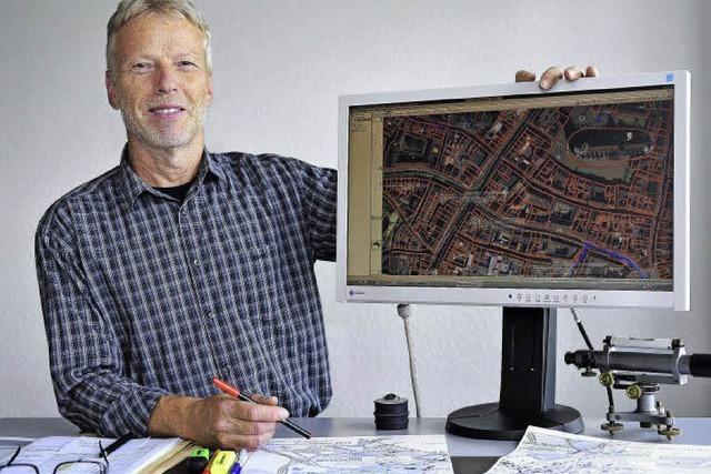 So arbeitet der Mann, der Freiburgs Baustellen koordiniert