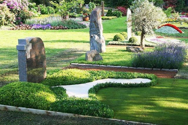 Gräber können individuell gestaltet werden