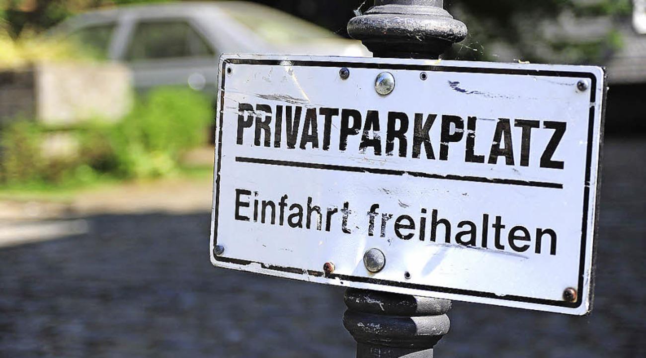 fudder Ampido, parken, Privatparklpatz, Parkplatz    Foto: © cowö - Fotolia.com